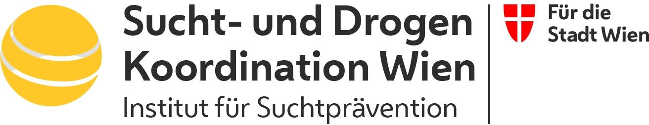 Logo Sucht- und Drogen Koordination Wien. Institut für Suchtprävention